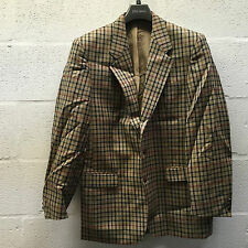 DAKS MEN'S SPORTS JACKET CHECKED 40L TWEED BLAZER NEW RRP £395