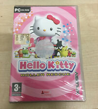 PC CD ROM HELLO KITTY ROLLER RESCUE NUOVO SIGILLATO GIOCO new (CO)