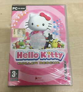 PC CD ROM HELLO KITTY ROLLER RESCUE NUOVO SIGILLATO GIOCO new (CO)