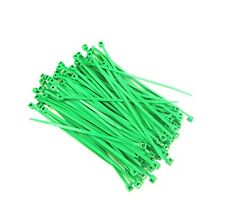 """CABLE TIES WIRE TIES FLUORESCENT BLUE NYLON 7/""""  LOT OF 100 NEW MADE IN USA"""