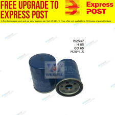 Wesfil Oil Filter WZ547 fits Nissan Pathfinder 3.3 V6 4x4 (R50),4.0 4x4 (R51)