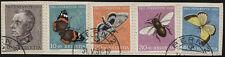 Svizzera - 1950 - Pro Juventute - Unificato nn.502/506 - su frammento