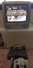 Nintendo 64 N64 Bundle,3 Games, 2 Controllers and more