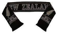 Nueva Zelanda All Blacks Rugby Bufanda-Hecho en Reino Unido