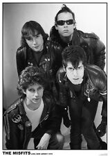 The Misfits Lodi New Jersey'79 Poster A1 Size 84.1cm x 59.4cm- 33 inch x 24 inch