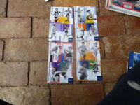 TELSTRA A SERIES ATHLETICS COLLECTORS CARDS UNPERFORATED 16 CARDS