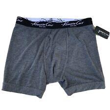 KENNETH COLE NY Fashion Stretch Boxer Brief Mens Size Medium NWT Gray Grey
