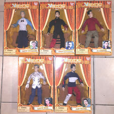 Vintage 2000 Living Toyz Nsync 10 Inch Dolls Marionettes New In Sealed Boxes Mip