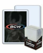 BCW Hard Plastic Trading Card Topload Holders Standard 59 79 108 138 168 Pack