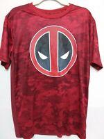 Deadpool Marvel T SHIRT Short Sleeve Men's Size Large (42/44) Polyester
