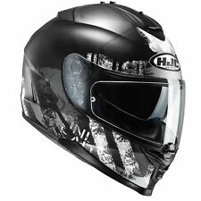 HJC Is-17 Shapy Black Helmet Med ACU Pinlock and Dark Smoke Visor