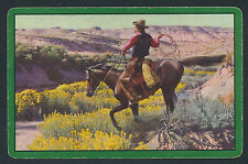 cowboy horse playing card single swap jack of spades - 1 card