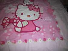 HELLO KITTY  Kinder Bettwäsche   Große Bettwäsche Glatt