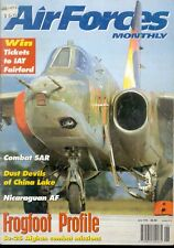 AIR FORCES MONTHLY 6/96 USAF USMC COMBAT SAR CH-53 TRAP / CHINA LAKE TA-4J USN