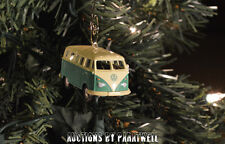 Custom Volkswagen Samba Bus Christmas Ornament VW Van 1/64th Camper Kombi T1 T2