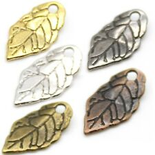 Tree of Life, Leaf, Pinecone Charms, Pendants, & End Piece Drop Beads