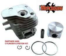 SPARE PARTS FOR PARTNER K650 ACTIVE2 CYLINDER AND PISTON KIT POT AND PISTON KIT