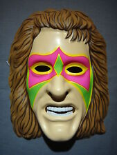 THE ULTIMATE WARRIOR MASK PVC WWF LEGENDARY WRESTLER 1991 TITAN SPORTS RUBIES