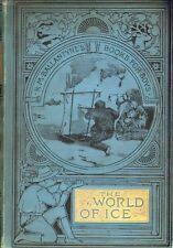 "r.m.ballantynes Libro Para Niños ""The World of Ice ""1893"