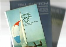 RACING DINGHY SAIL & KEELBOAT EXPERT SAILING 3 Books Hc Competition Techniques