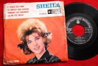 "SHEILA 1963 FRENCH CHANSON UNIQUE RARE EXYU 7"" PS EP"