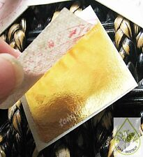 Genuine Pure Gold Leaf 100% Original 24K 10 Sheets Gilding 1.18""