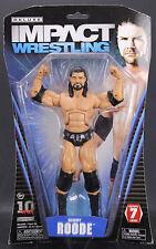 Tna Deluxe  Impact 7 BOBBY ROODE Wrestling  Action  Figure Figurine