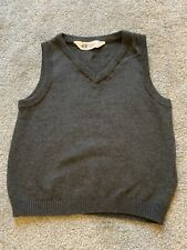 Boys Brand New H&M Knitted Tank Top Grey Jumper 3-4 Years
