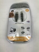 Belkin High Speed USB 2.0 Cable 6 Foot 1.8 m Brand New in Packaging