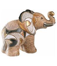 DeRosa Rinconada African Elephant Female NIB # F121A De Rosa Ceramic NEW IN BOX