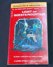 Dungeons & Dragons An Endless Quest Book #12 Light on Quest Moutain