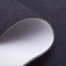 Black Scrim Foam Seat Upholstery Car Seating Headlining Trimming  3mm Fabric