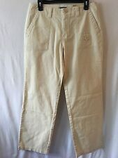 NWT Dockers Women's Ivory Cargo Stretch Pants -Size 10M
