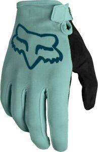 Fox Ranger Gloves Sage FA21 - Full Finger Lightweight Mountain Bike MTB