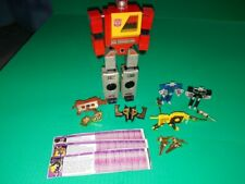 G1 Transformer lot Blaster & Cassettes Ramhorn, Steeljaw, Rewind, Eject, Buzzsaw