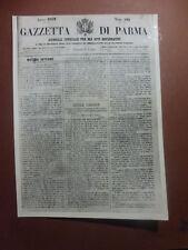 ARCHIVIO FOTO VAGHI - PARMA GAZZETTA 1859 - BATTAGLIA MAGENTA