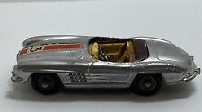 Corgi 303 Mercedes Benz 300 S.L. Roadster Silver #3 Die Cast Model Car