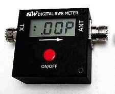 Redot 1051A Mini Digital Vhf Uhf Swr Power Meter 100-500 Mhz 120W Am/Fm/Cw