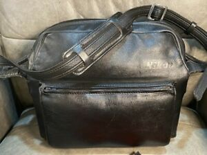 RARE Nikon FB-14 Vintage leather camera bag (Includes Key!)