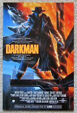 DARKMAN ORIGINAL 1990 BELG MOVIE POSTER ROLLED LIAM NEESON NM