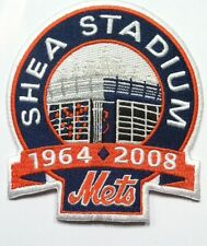 "Mets NY New York Mets patch Shea Stadium  jersey sleeve patch 4 1/4"" iron on"
