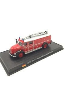 Magirus rkw7 1954 s6500 1/72 n22/150 Trucks Of Firefighters of the World Base