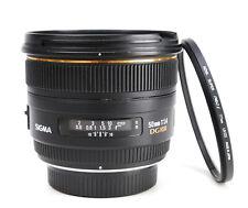 Sigma EX 50mm F1.4 DG HSM Fast Prime Autofocus Lens  Pentax + Rear Cap  VGC