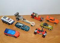 VINTAGE & MODERN DIECAST CAR TRUCK LOT HOT WHEELS MATCHBOX JOHNNY LIGHTNING