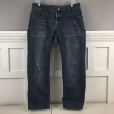 Authentic Hermes Paris Le Denim Men Jeans Medium Blue Size 35