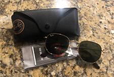 Ray Ban Hexagonal Flat Lense Sunglasses