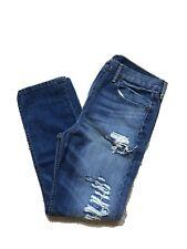 NWT! Levi's 522 Slim Taper Stretch Fit Denim Ripped Jeans Men's NEW! 34x30