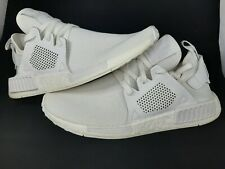 Adidas Originals NMD XR1 Triple White Athletic Shoes Men Size 10 (BY9922)