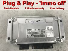 Peugeot 206 307 etc Citroen ECU 0261206943 9650346180 35 *Plug & Play*(Immo off)