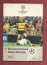 ORIG. prg ch. League 97/98 borussia dortmund-bayern munich 1/4 Finale!!!
